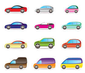Popular types of cars