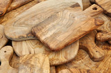 Olive wood cutting boards to the market