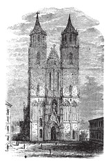 Cathedral of Magdeburg or Cathedral of Saints Catherine and Maur