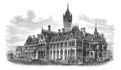Manchester Assize Courts in Strangeways Manchester England vinta