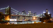 Brooklyn Bridge Night Scene