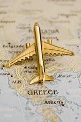 Plane Over Greece