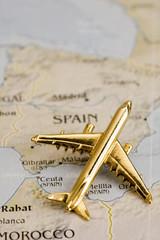 Plane Over Spain