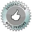 étiquette satisfaction