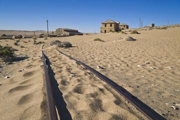 Kolmanskop, verlassene Diamantenstadt