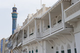 Traditional building style in Muscat Oman