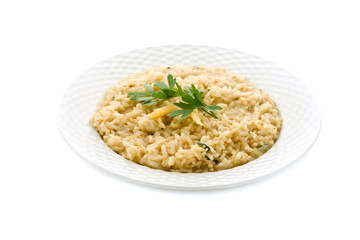 Risotto alla Parmiggiana - Isolated