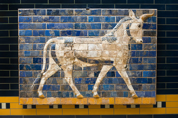 Ishtar Gate Babylonian Mosaic