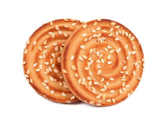 .Biscuits with sesame seeds