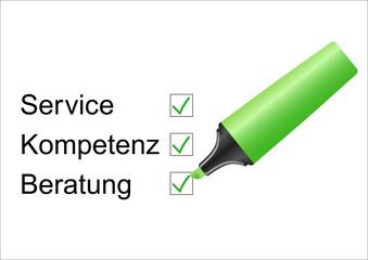 Service / Kompetenz / Beratung