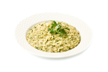 Risotto alle Erbe - Isolated