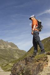Bergsteigerin #4