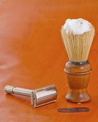 Brush and razor