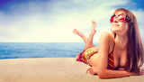Fototapety Sunbathing