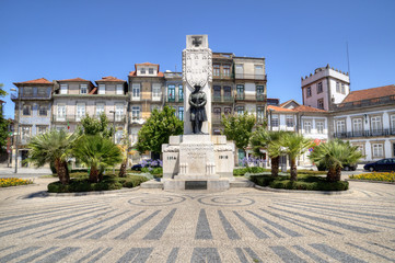 Carlos Alberto Square, Porto, Portugal.