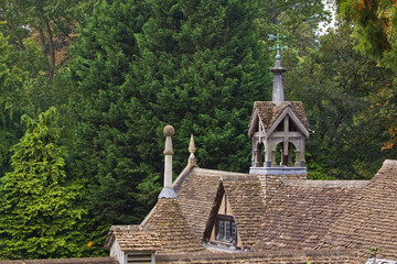 Old Stable Roofs in Wiltshire UK