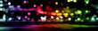 Abstract city lights