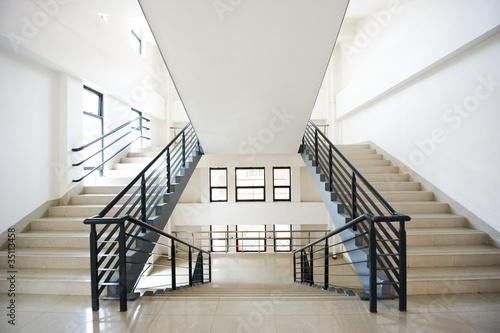 Leinwanddruck Bild modern stairs