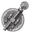 Spectroscope or Spectrometer vintage engraving