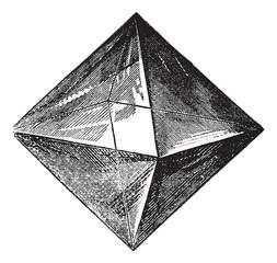 Spinel vintage engraving