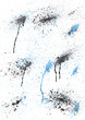 Aquarell Hintergrund gemalt wasser Farben