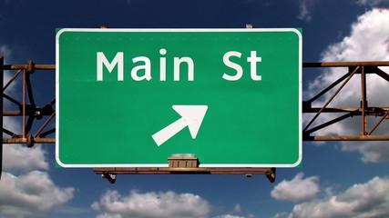 Main Street Roadsign