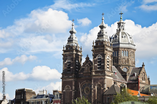 Church of St. Nicholas in Amsterdam Netherlands Europe