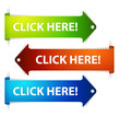 Set of vector long horizontal colorful arrows - click here!