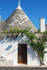 Una visione dei famosi Trulli di Alberobello