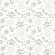 ブラック 骸骨 背景 パターン