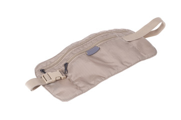 Traveller's money belt bag