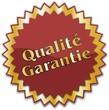 étiquette qualité garantie