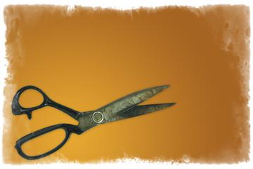 open scissors