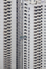 highrise building at hongkong