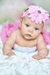 little pink flower-girl