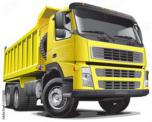Fototapeten,müllhaufen,lastkraftwagen,schutthalde,dumping
