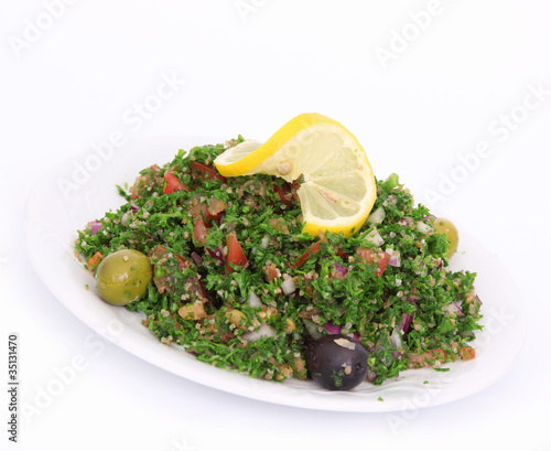 Fresh tabbouleh salad