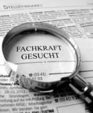 Fototapety Zeitung Fachkraft gesucht