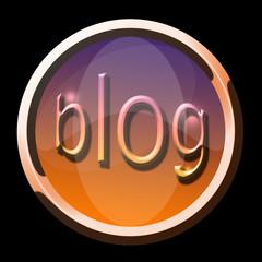 bouton blog cuivre
