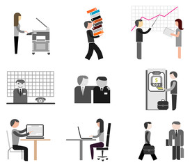 Business - office icons