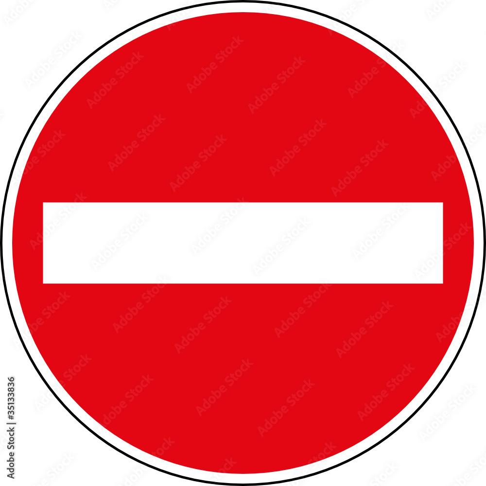 Verbotsschild Einfahren Verboten Keine Einfahrt Schild  : 1000F3513383607ombFWwbh80XB3BjtbjxS1Z50T6Su1I from thestickerstudio.com size 1000 x 1000 jpeg 92kB