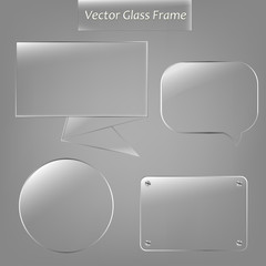 Glass Frame Set