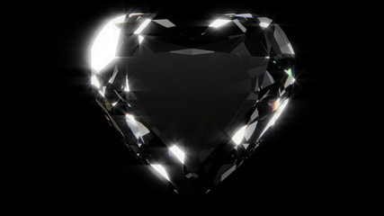 diamond heart loop static