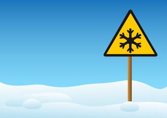 Warning - snow