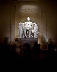Lincoln and Tourists