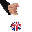 Made in UK button