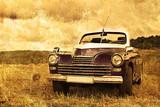 Fototapeta chrom - klasyk - Samochód
