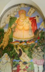 Pietrasanta, Botero's fresco
