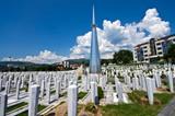 Sarajevo, cimitero delle vittime della guerra di Bosnia 2 poster