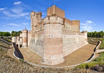 Castillo de la Mota en Medina del Campo, España